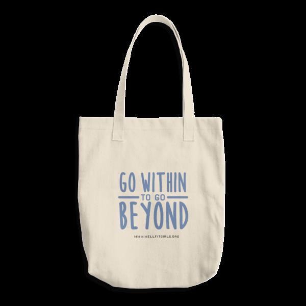 1c814734eae4b Go Beyond Wellfit Girls Cotton Tote Bag   Wellfit Girls