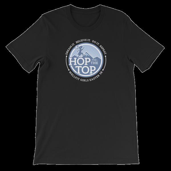 46efb8b2 Hop To the Top Short-Sleeve Unisex T-Shirt | Wellfit Girls