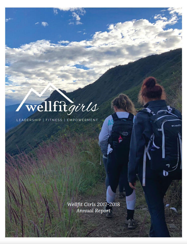 2017-2018 Wellfit Girls Annual Reports